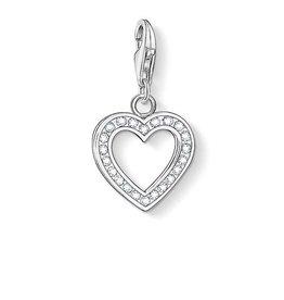 Thomas Sabo Charm Heart, White