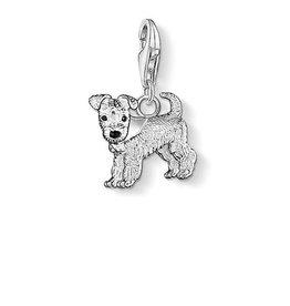 Thomas Sabo Charm Dog Silver W/ Bandana