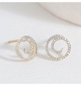 Ella Stein Swirl Girl Earring, Gold