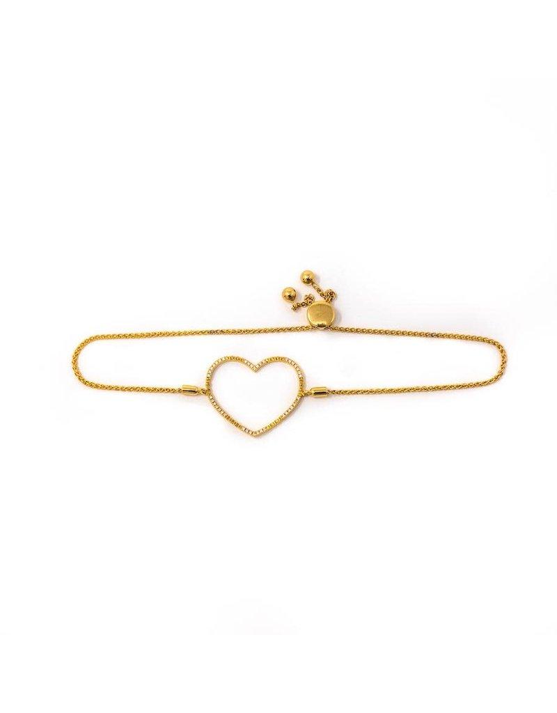 Ella Stein Keep Your Heart Open Bracelet, Gold
