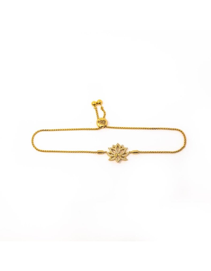 Ella Stein Blooming Lotus Bracelet, Gold