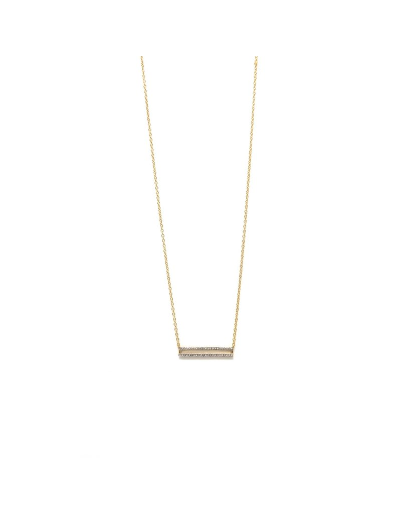 Ella Stein Bar Necklace, Yellow Gold