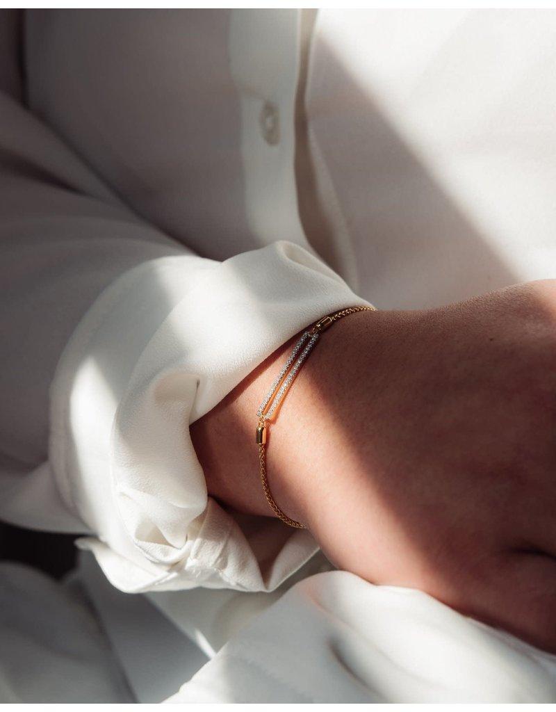 Ella Stein Set The Bar Bracelet, Gold