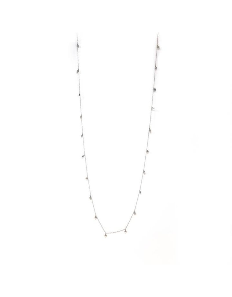 Ella Stein Diamond Shape Necklace, Sterling Silver