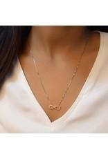 Ella Stein Infinity Necklace, Sterling Silver
