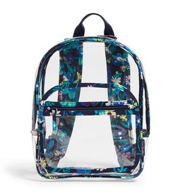 Vera Bradley Clearly Colorful Stadium Backpack Moonlight Garden