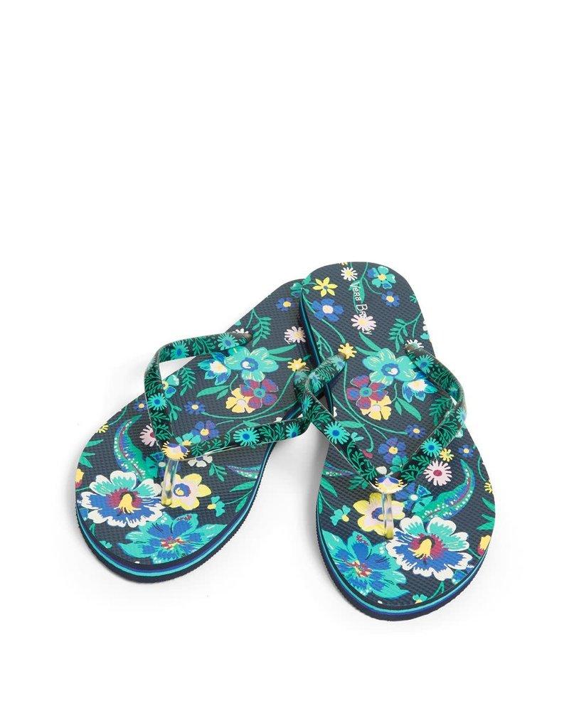 Vera Bradley Flip Flop - Each Firefly Garden Small S