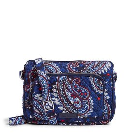 Vera Bradley Iconic RFID Little Hipster Fireworks Paisley