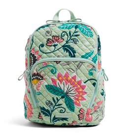 Vera Bradley Hadley Backpack Mint Flowers