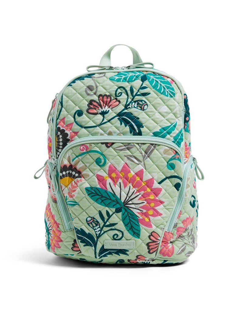 cf374744a Vera Bradley Hadley Backpack Mint Flowers - Periwinkle Boutique ...
