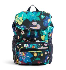 Vera Bradley Lighten Up Daytripper Backpack Firefly Garden