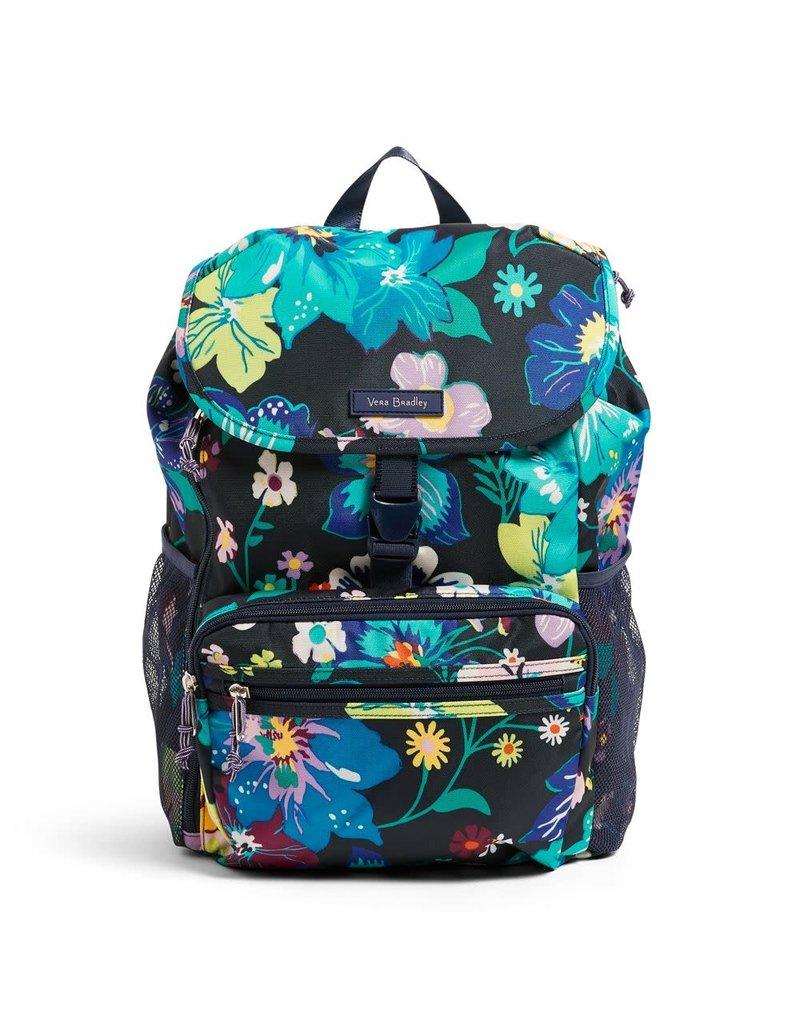 Vera Bradley Lighten Up Daytripper Backpack Firefly Garden