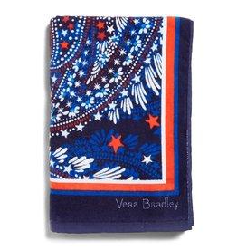Vera Bradley Beach Towel Fireworks Paisley