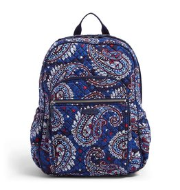 Vera Bradley Iconic Campus Backpack Fireworks Paisley