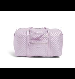 Vera Bradley Iconic Large Travel Duffel Lavender Pearl