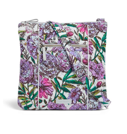 Vera Bradley Iconic Hipster Lavender Meadow