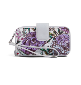 Vera Bradley Iconic RFID Smartphone Wristlet Lavender Meadow