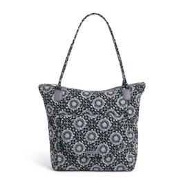 Vera Bradley Carson North South Tote Charcoal Medallion