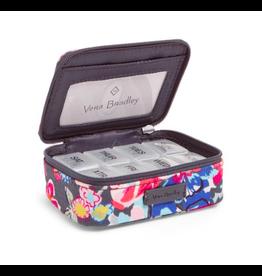 Vera Bradley Iconic Travel Pill Case Pretty Posies