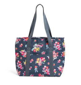 Vera Bradley Lighten Up Cooler Tote Tossed Posies