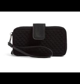 Vera Bradley Iconic RFID Smartphone Wristlet Classic Black