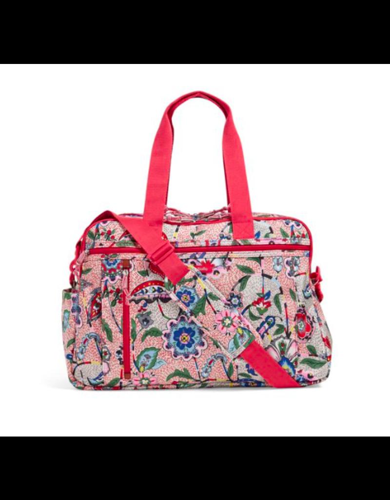 40b1a139b Lighten Up Weekender Travel Bag Stitched Garden - Periwinkle ...