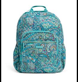 Vera Bradley Iconic Campus Backpack Daisy Dot Paisley