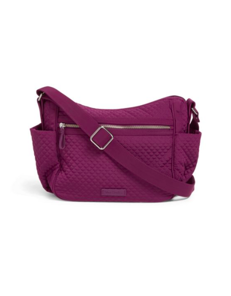 Vera Bradley Iconic On the Go Crossbody Gloxinia Purple