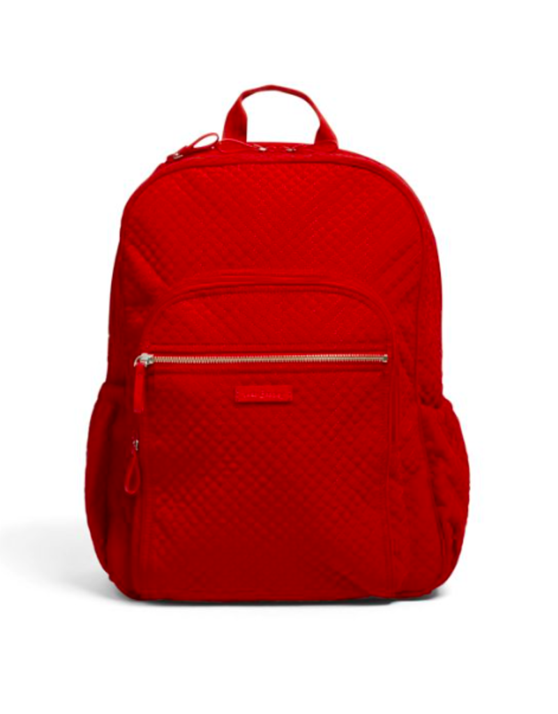 Vera Bradley Iconic Campus Backpack Cardinal Red