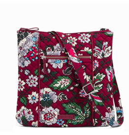 Vera Bradley Iconic Hipster Bordeaux Blooms