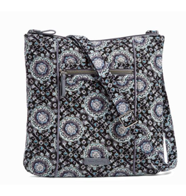 Vera Bradley Iconic Hipster Charcoal Medallion