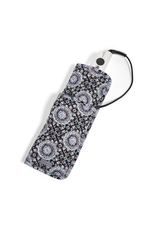 Vera Bradley Iconic Curling & Flat Iron Cover Charcoal Medallion