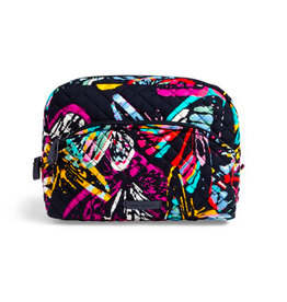 Vera Bradley Iconic Large Cosmetic Butterfly Flutter