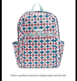 Vera Bradley Lighten Up Grand Backpack Water Geo