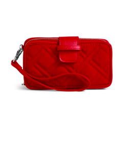 Vera Bradley RFID Smartphone Wristlet Cardinal Red