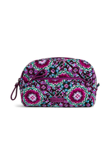 Vera Bradley Iconic Mini Cosmetic Lilac Medallion