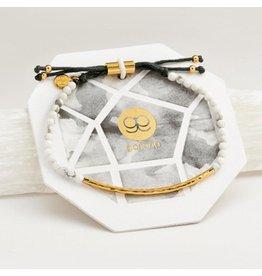 Gorjana Power Gemstone Bracelet, Calming, Howlite