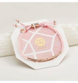 Gorjana Power Gemstone Bracelet, Love, Rose Quartz