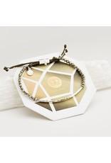 Gorjana Power Gemstone Bracelet, Strength, Pyrite, Silver