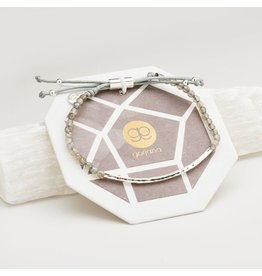 Gorjana Power Gemstone Bracelet, Balance, Labradorite