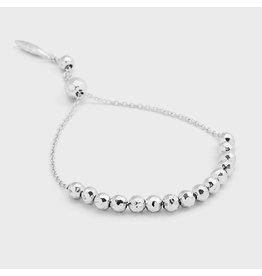 Gorjana Laguna Large Adjustable Bracelet, Silver