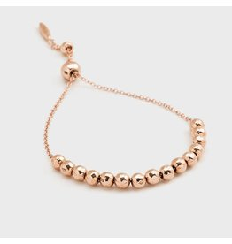 Gorjana Laguna Large Adjustable Bracelet, Rose Gold