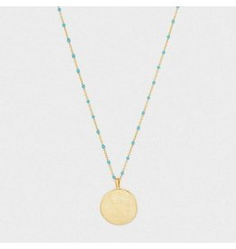 Gorjana Capri Coin Necklace, Gold