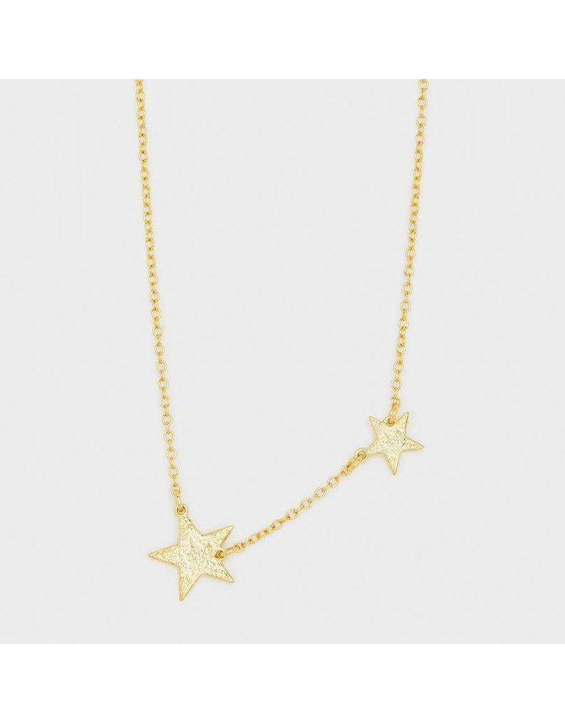 Gorjana Super Star Necklace, Gold