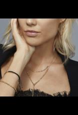 Gorjana Taner Bar Necklace, Small, Rose