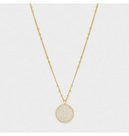 Gorjana Pristine Coin Necklace, Gold