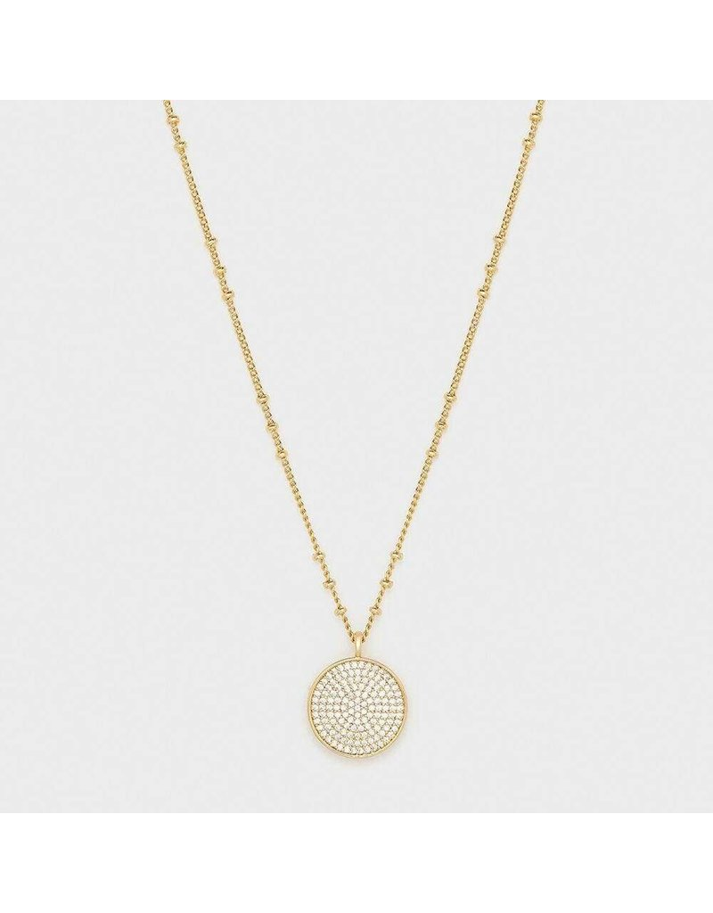 Gorjana Pristine Coin Necklace, Gold