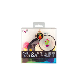 Fashion Angels Enterprises Chill Out & Craft Embroidery Kit