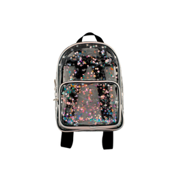 Fashion Angels Enterprises Transparent Star Shaker Mini Backpack