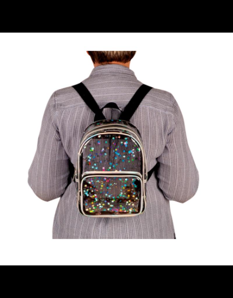 Fashion Angels Enterprises Transparent Star Shaker Mini Backpack
